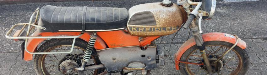 Vendre sa moto hors service